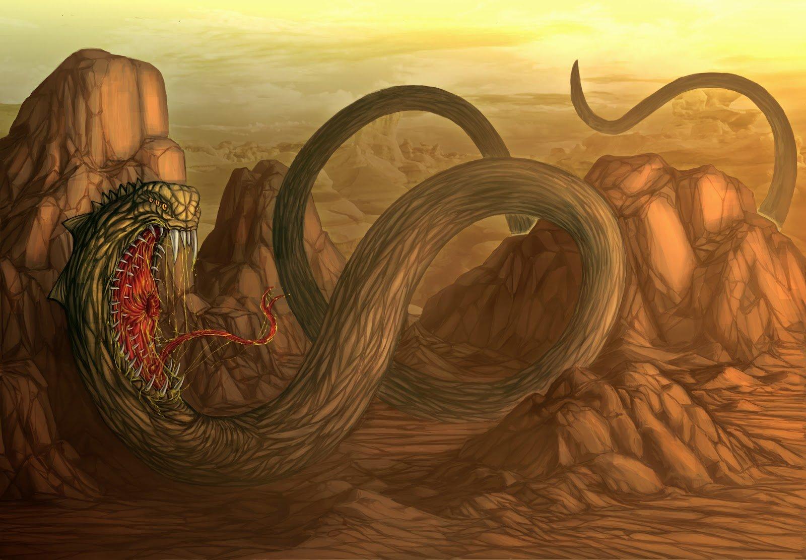 Морозный змей