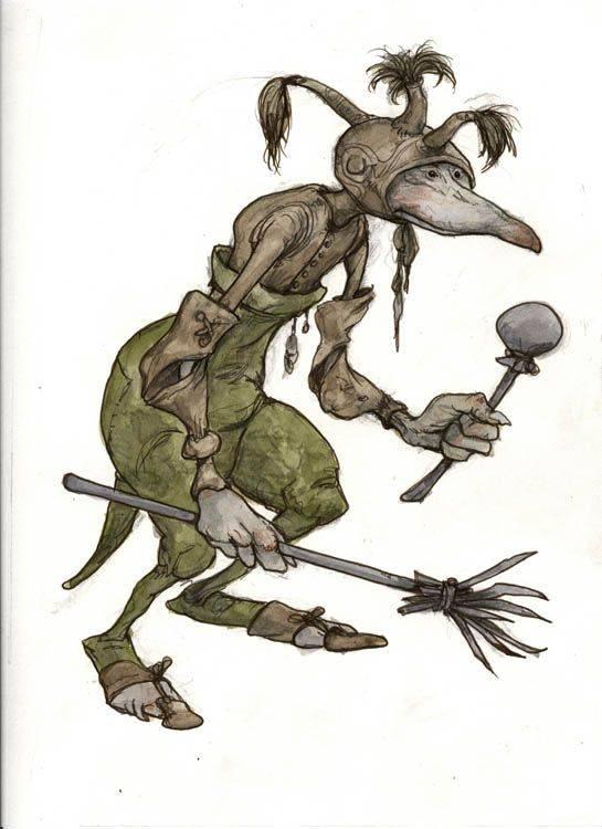 10 необычных существ из славянских мифов и преданий