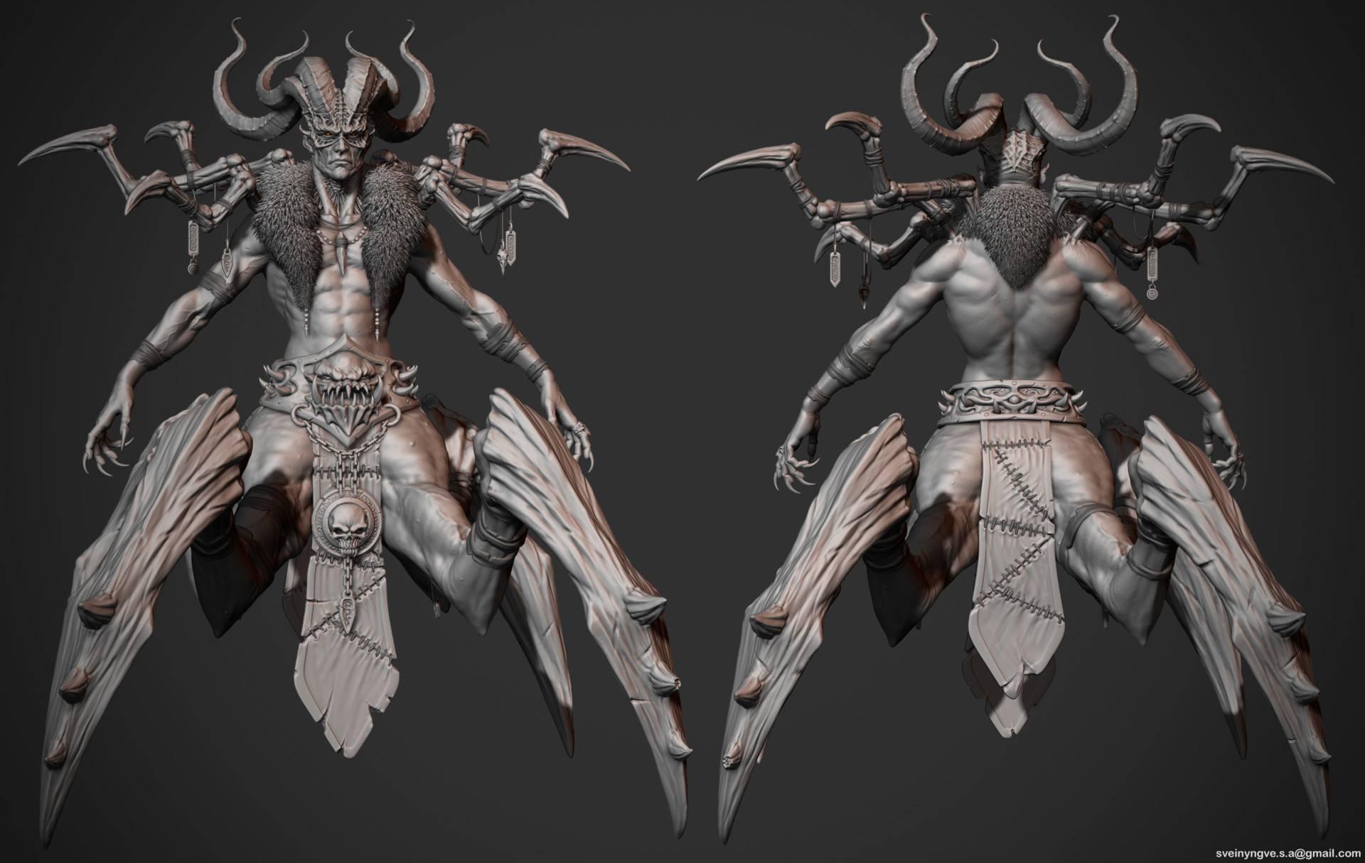 Как выглядит демон баал