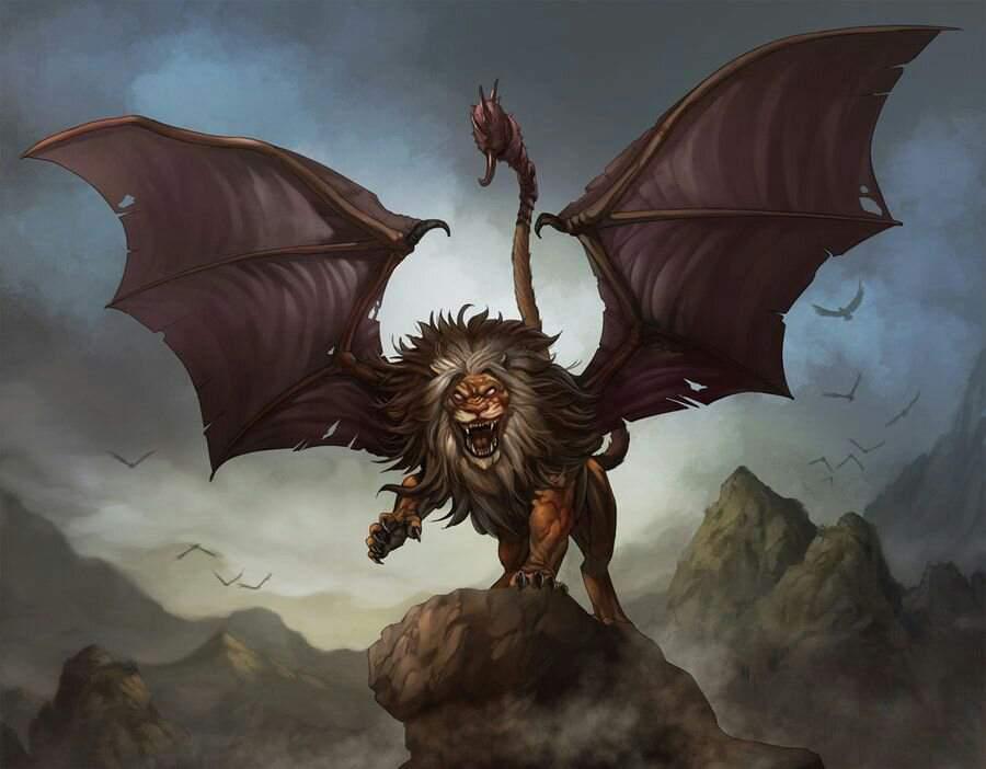 Мантихор | ведьмак вики | fandom
