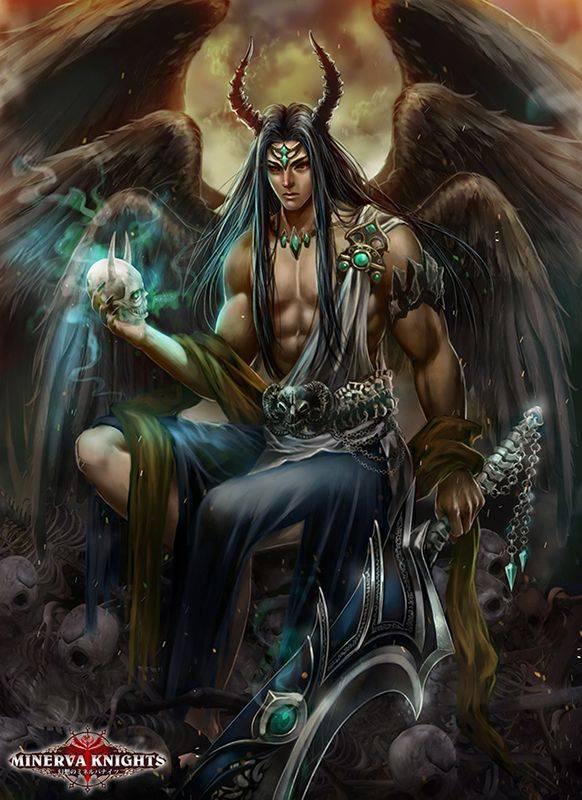 Демоны тьмы - люцифер, вельзевул, асмодей и другие