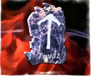 Руна Тейваз — значение в магии и гадании