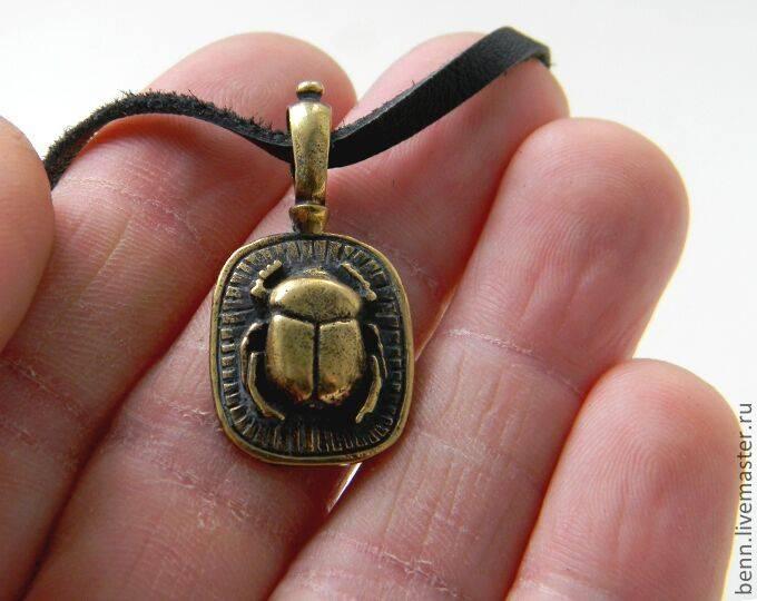 Свещенный египетский жук скарабей что символизирует талисман и его значение