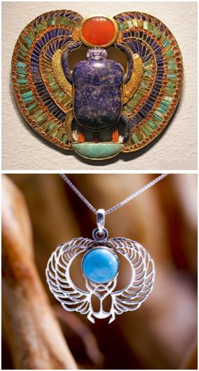 Жук-скарабей: начение талисмана из Древнего Египта