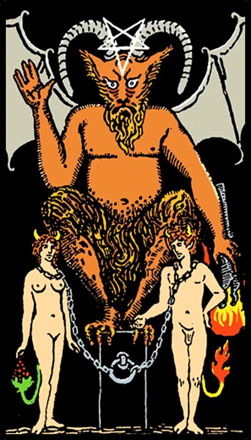Дьявол таро — какие тайны откроет карта?