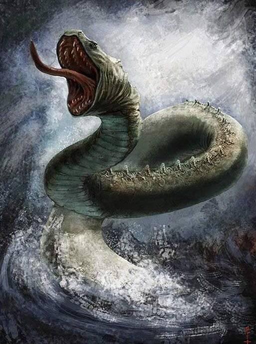 Чудовище Левиафан и его роль в истории
