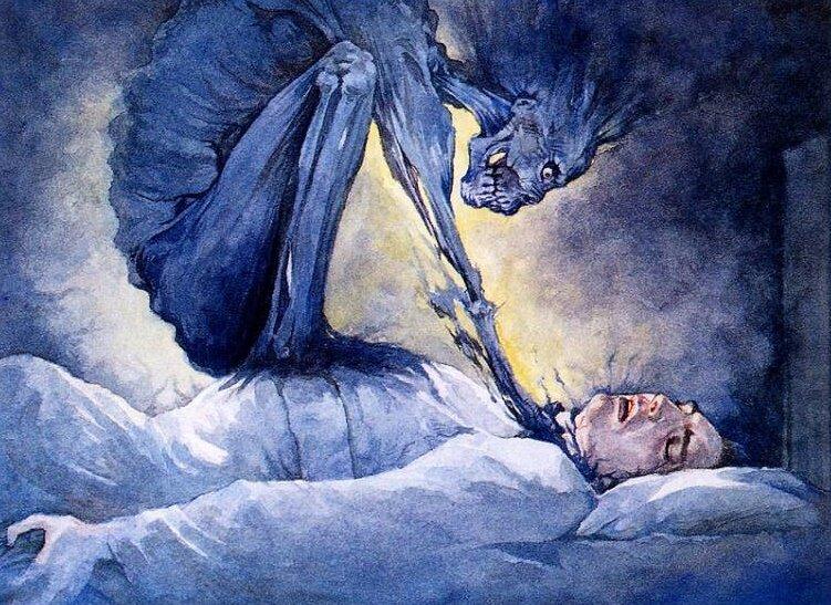 Сонник: к чему снится домовой (душит во сне)