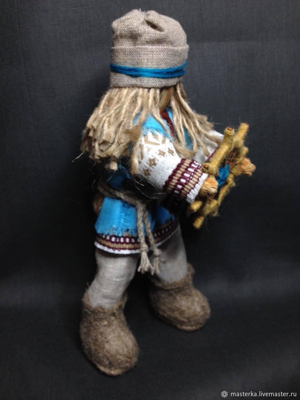 Славянская кукла спиридон-солнцеворот