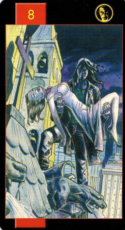 Готическое таро вампиров — галерея колод и описание