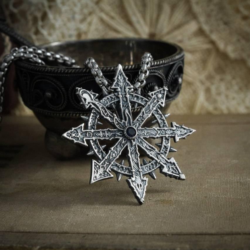 Звезда хаоса – амулет из хх-го века. значение символа и тату