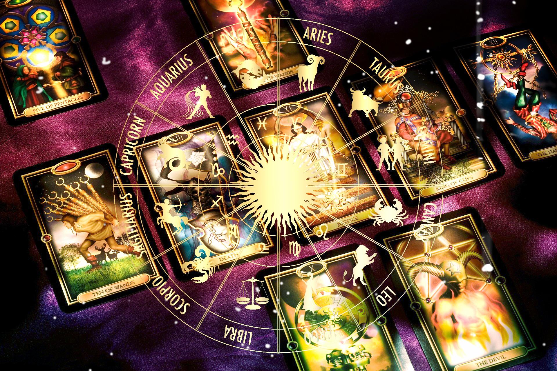 Гадание на картах таро по знаку зодиака видео заклинания для гадания на картах