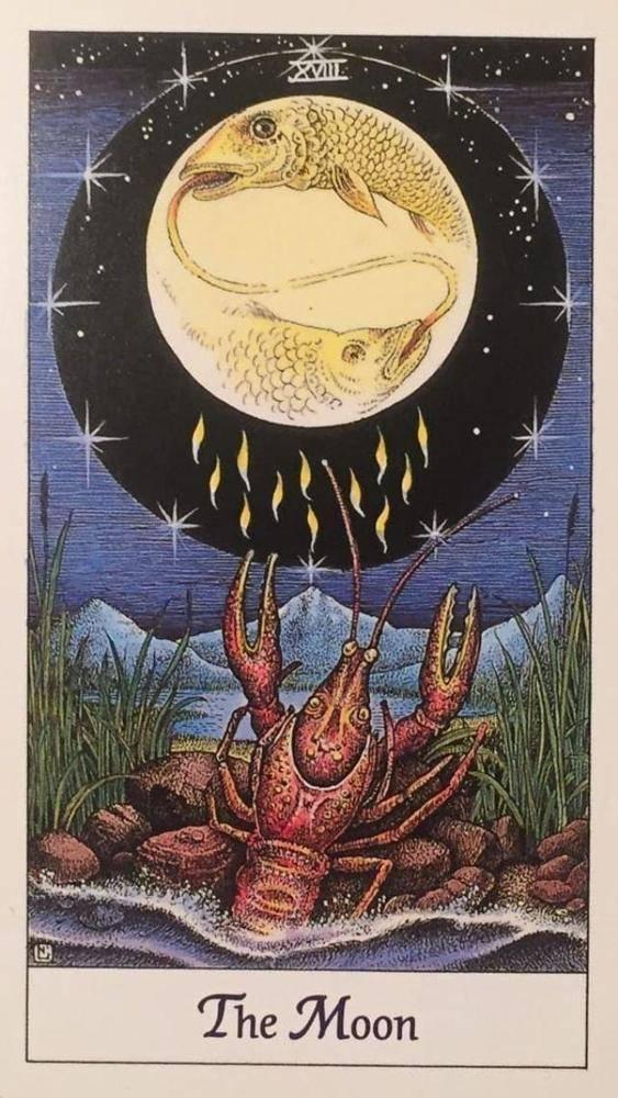 Луна (18 аркан таро): значение в отношениях и любви, сочетание с другими картами