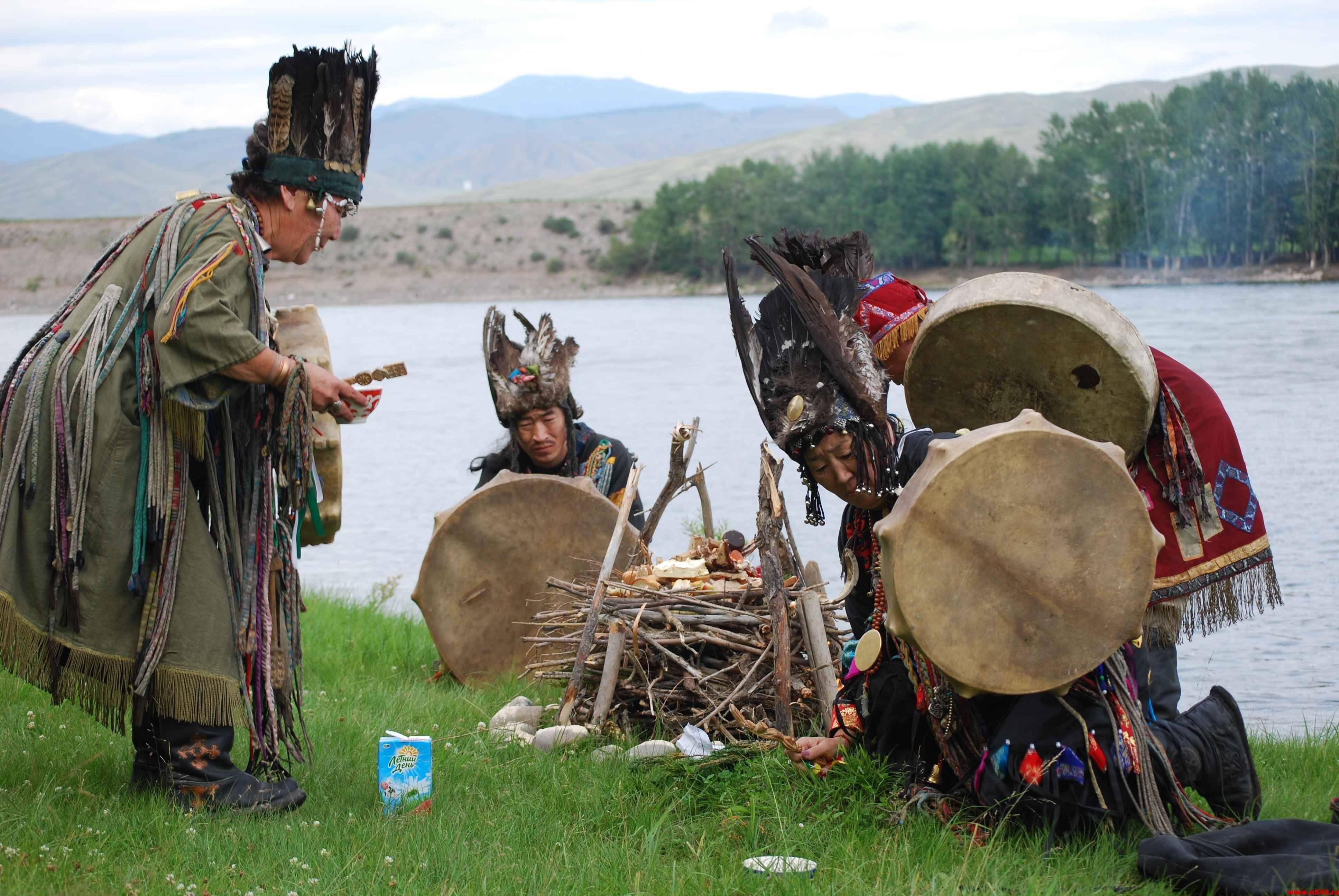 Центр мира там, где находится шаман. шаманы алтая и других регионов сибири