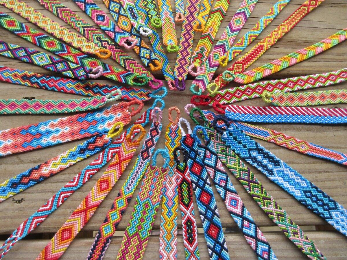 Виды фенечек и способы плетения браслетов дружбы