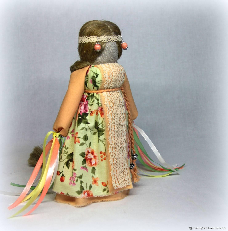 Кукла-оберег успешница: делаем своими руками | мастер-класс