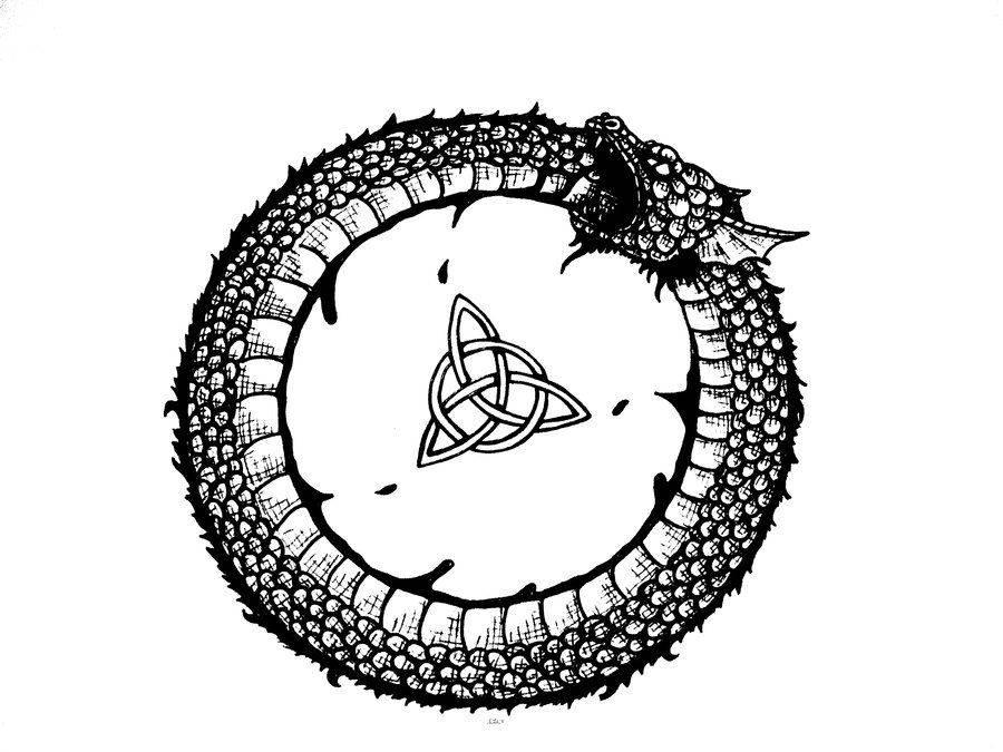 Значение символа уроборос. что символизирует уроборос - ваш зубной