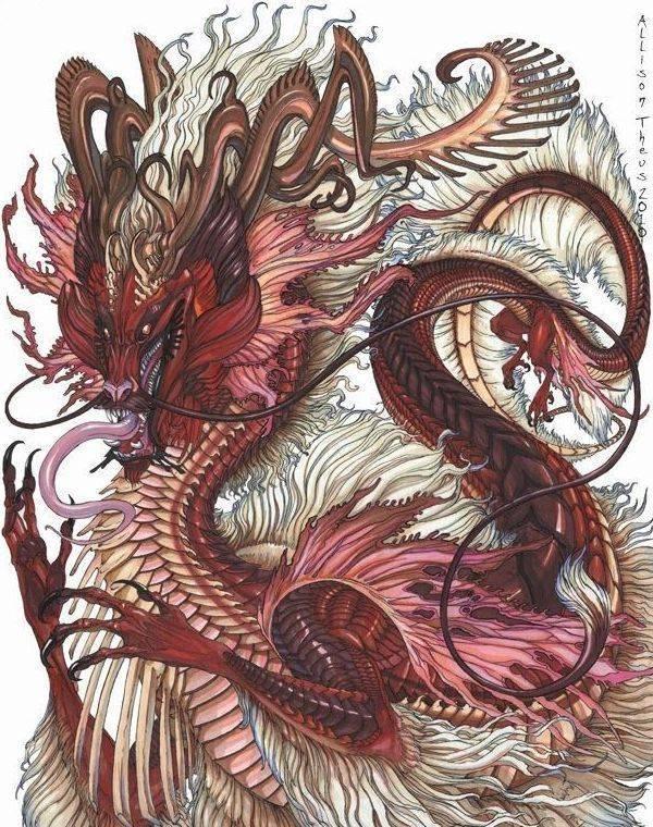Мифические драконы и виверны в сказаниях разных народов