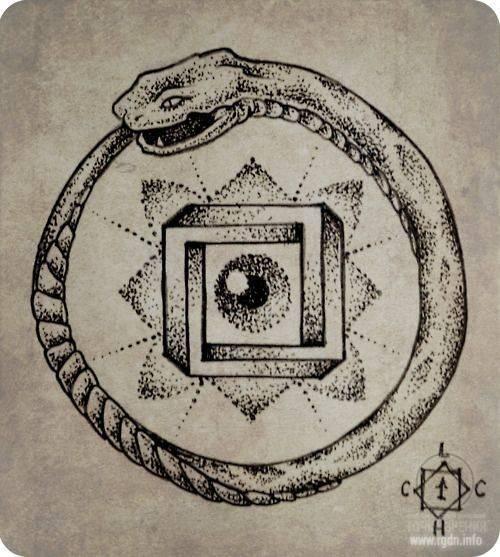 Значение символа уроборос. что символизирует уроборос
