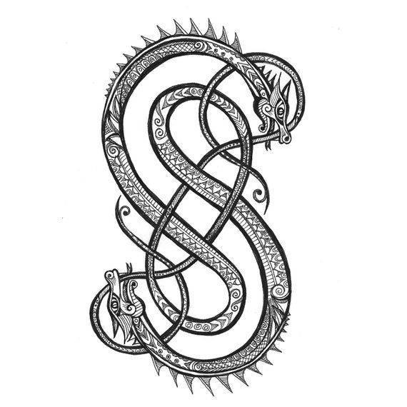 Уроборос тату значение: происхождение и символизм