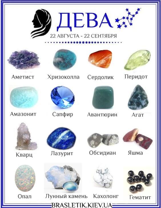 Талисманы и камни для девы: предметы, животные, камни и растения, как выбрать и как носить
