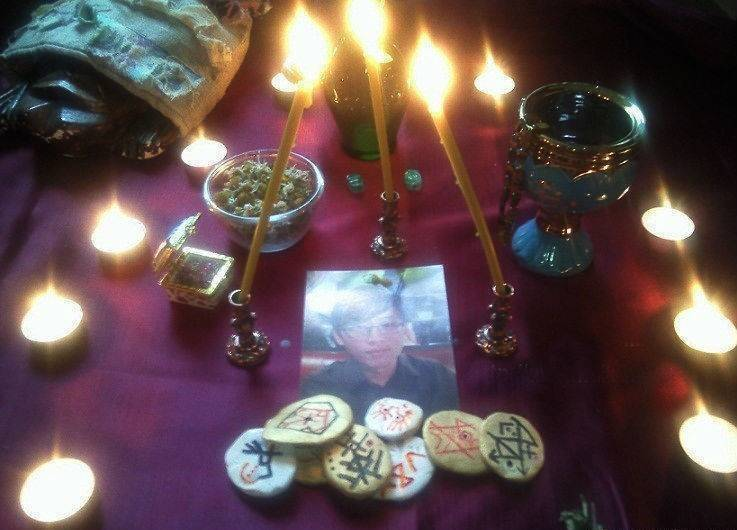 Ритуал приворота по фотографии