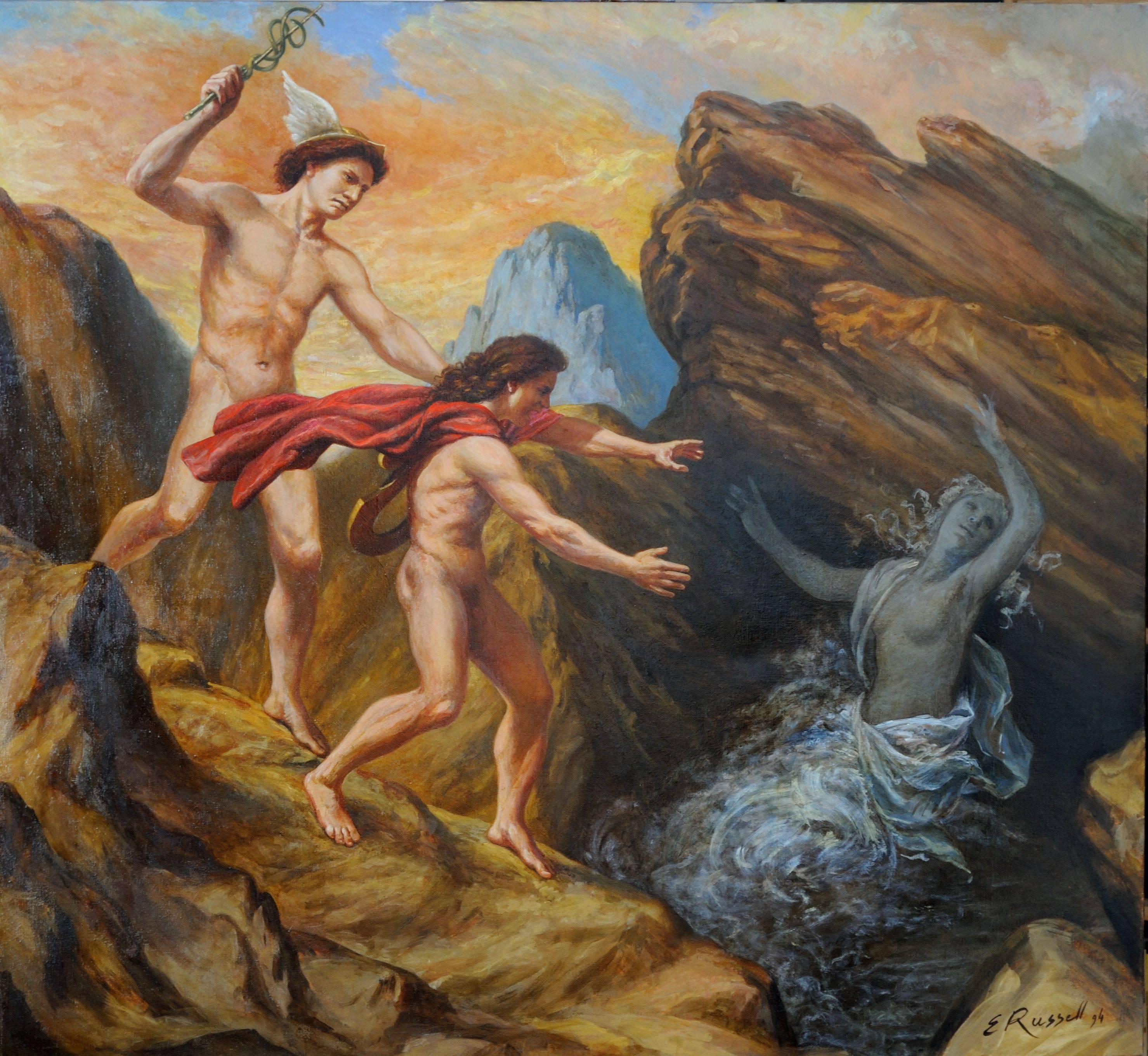 Нимфы — воплощение природы из греческого пантеона