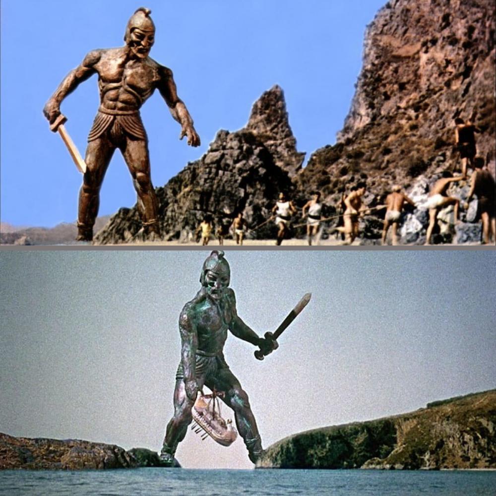Талос — созданный зевсом бессмертный страж острова крит