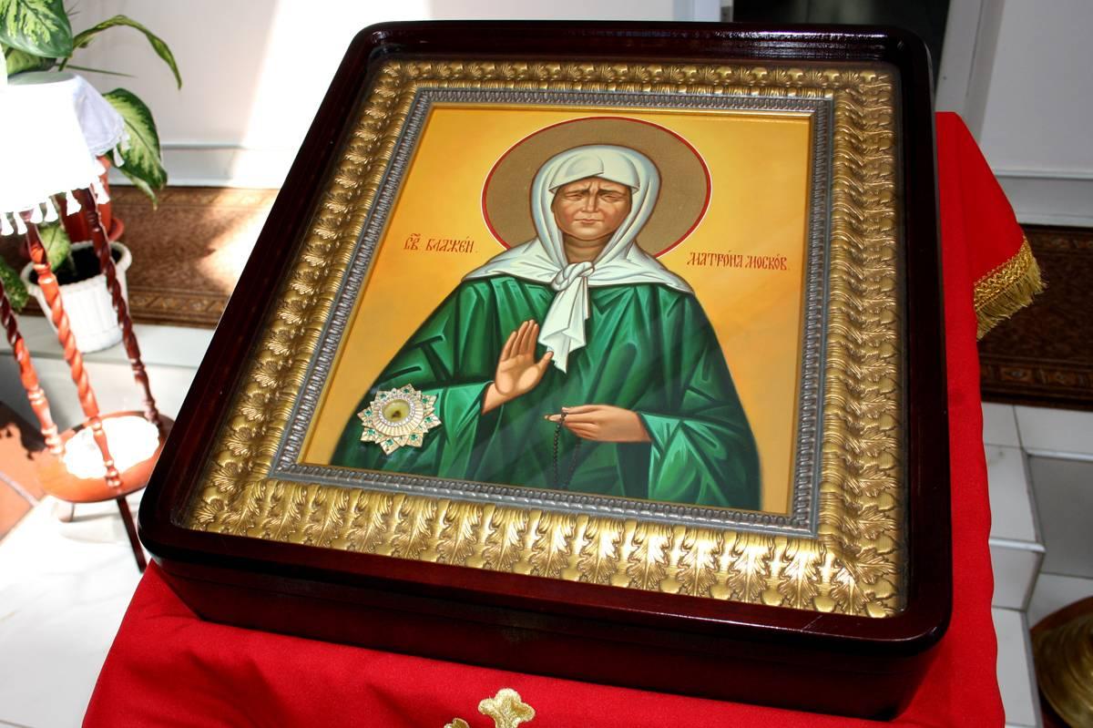 Биография святой матроны московской и в каком храме ее мощи, значение иконы и в чем помогает