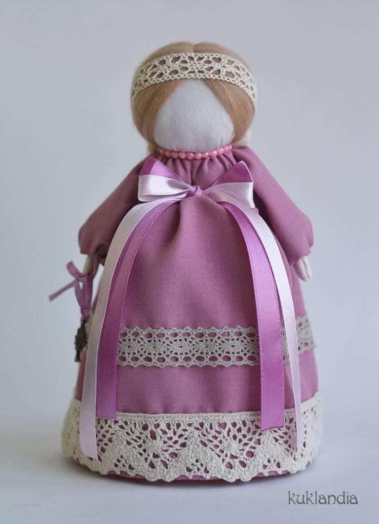 Кукла благополучница-денежница своими руками | мастер класс