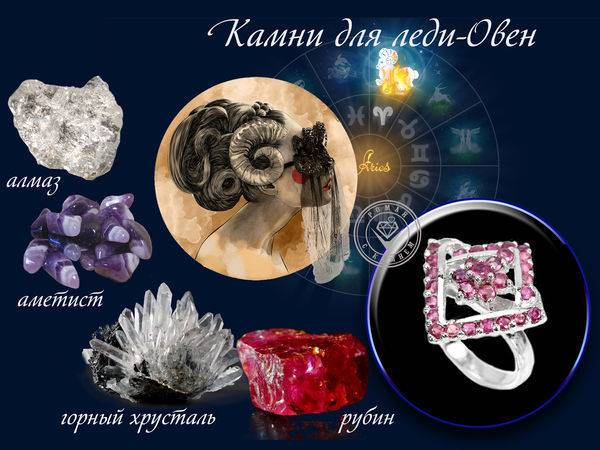 Какой камень подходит овнам по гороскопу и дате рождения