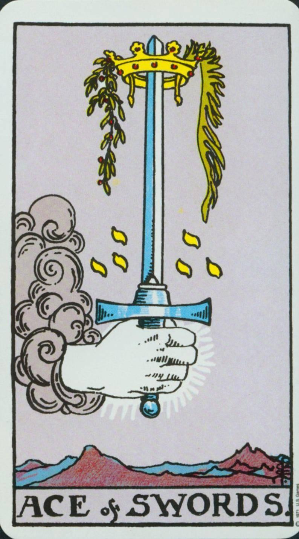 3 мечей – значение карты таро