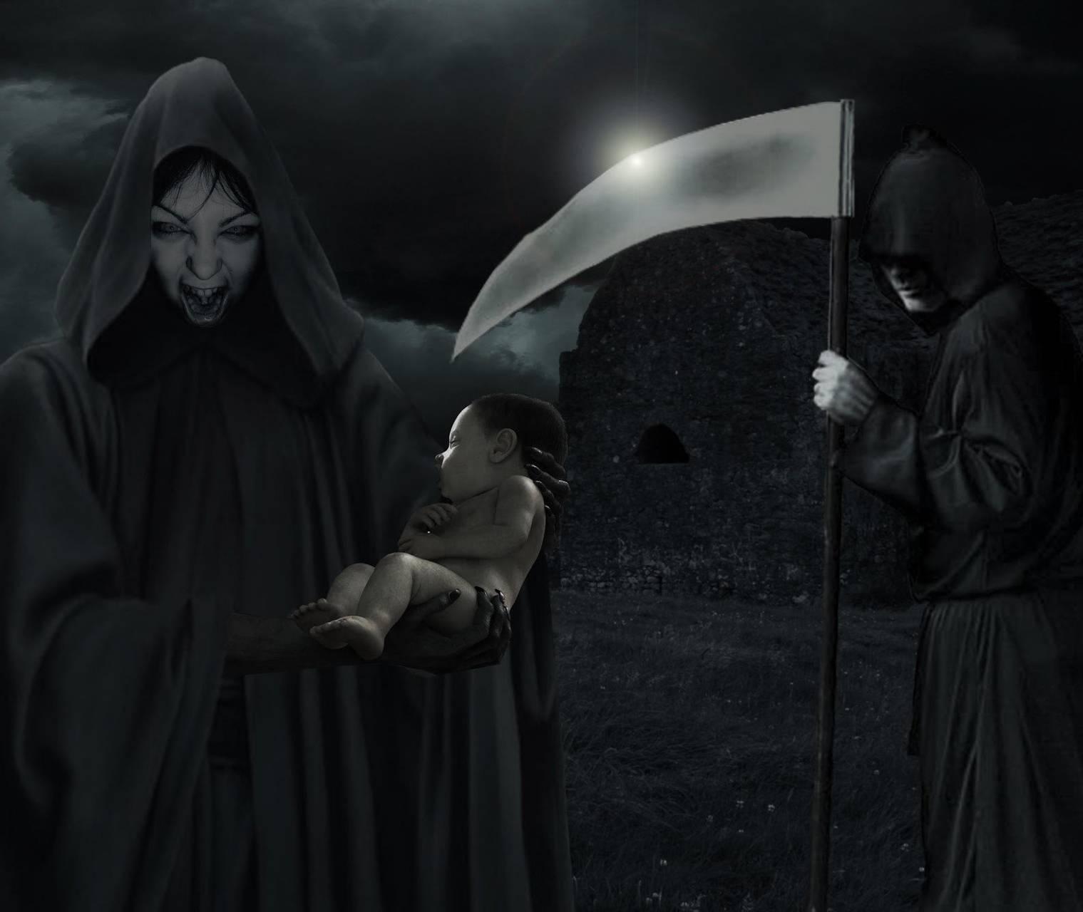 Ангел смерти — способы вызова, защита и легенды