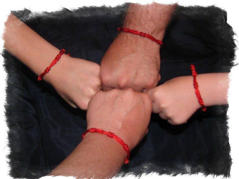 Красная нить в каббале укрывает от сглаза и порчи.