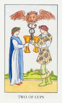 Двойка воды таро манара: общее значение в отношениях, любви