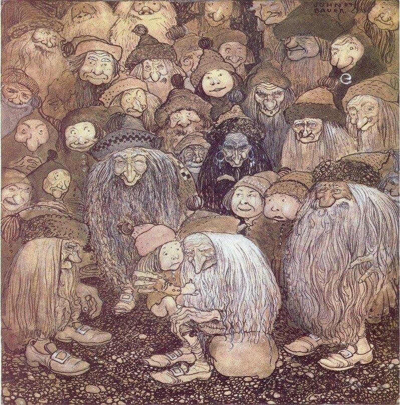 Альвы — эльфы и гномы из германо-скандинавской мифологии. альвы — эльфы и гномы из германо-скандинавской мифологии скандинавский гномик