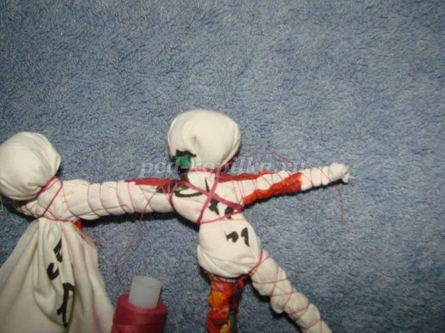 Кукла мастер-класс оберег рождество моделирование конструирование шитьё обережное рукоделие кукла коляда сутаж тесьма шнур ткань