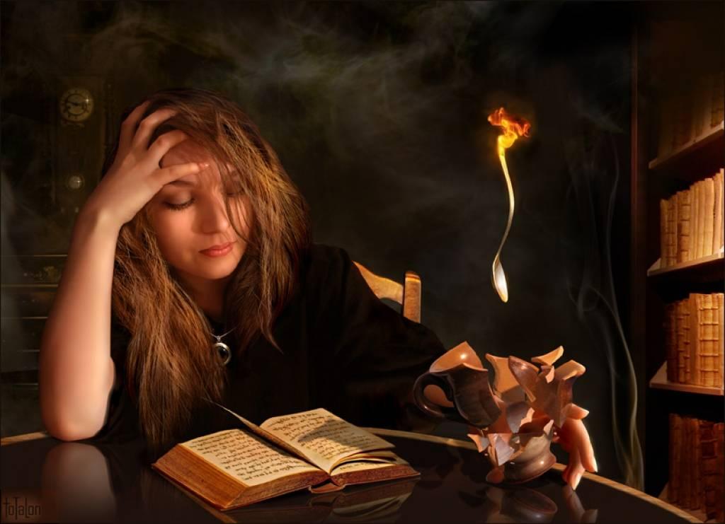 Книга заклинаний по черной магии