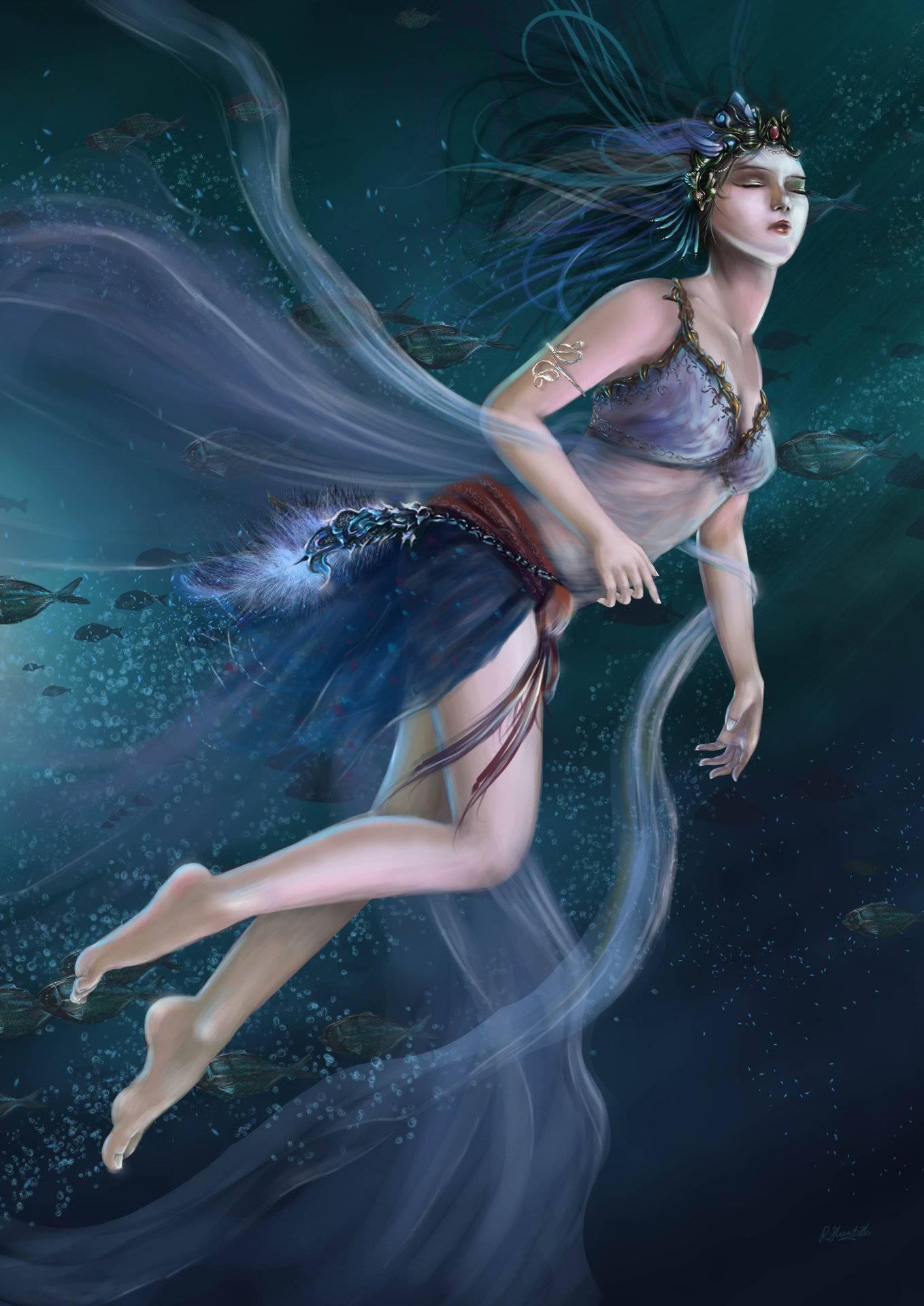 Нереиды — морские сестры из греческой мифологии. таинственные нереиды легенды о плеядах