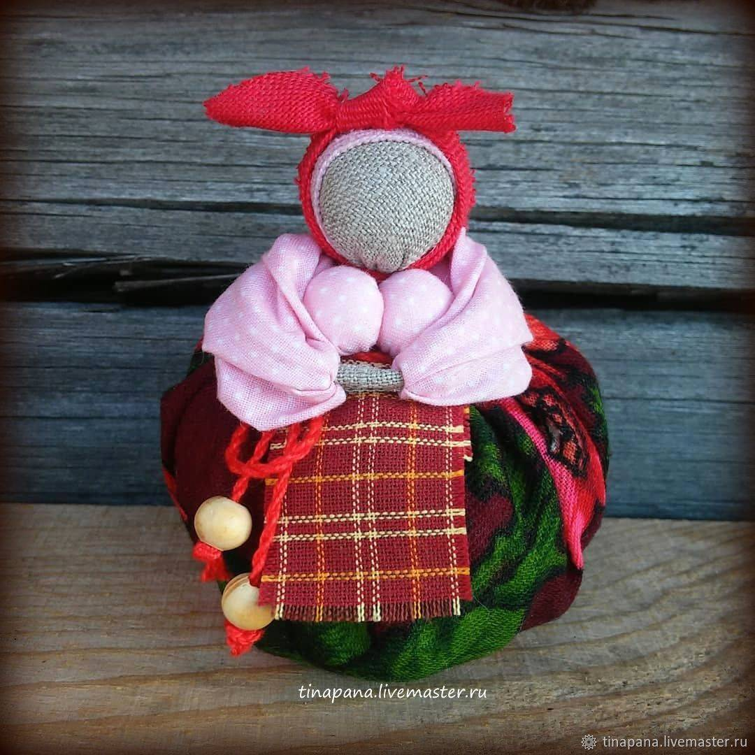 Мастер-класс по созданию куклы-оберега кубышка-травница
