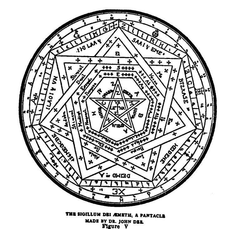 Енохианская магия — энциклопедия мифов