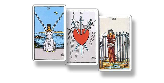 3 мечей - значение карты таро