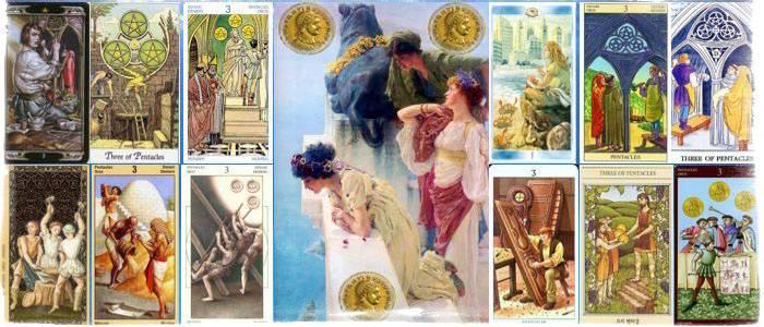 Восьмерка пентаклей — толкование и значение карты таро