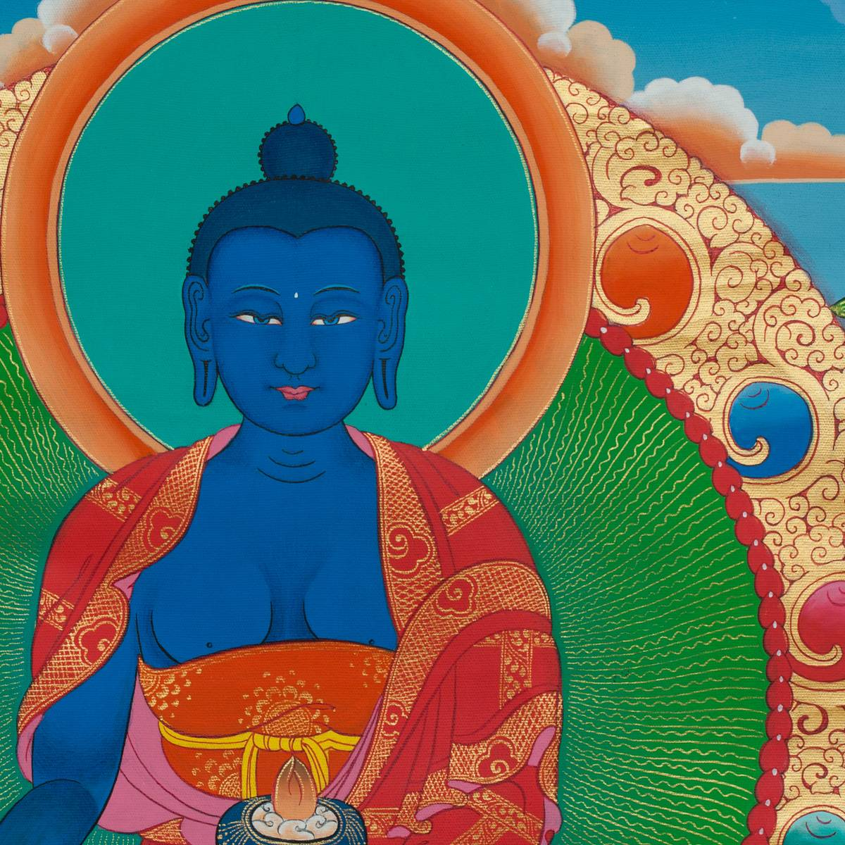 Текст исцеляющей мантры будды медицины бхайшаджьягуру | про все, что не может объяснить обычная наука
