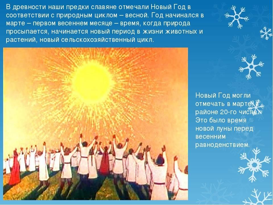 Праздники в россии и славянские праздники