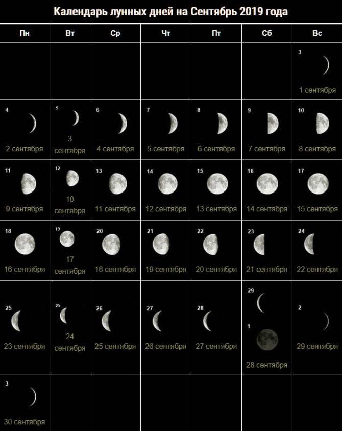 Лунный день. лунные сутки