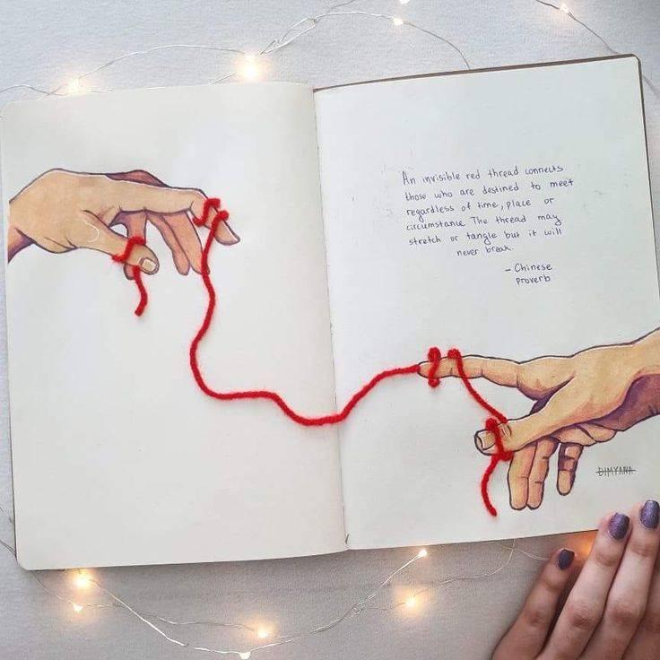 Красная нить судьбы — узнайте, как найти любовь