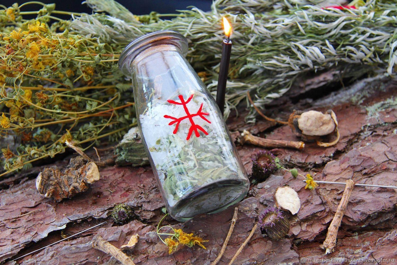 Ведьмина бутылка – уникальный магический оберег
