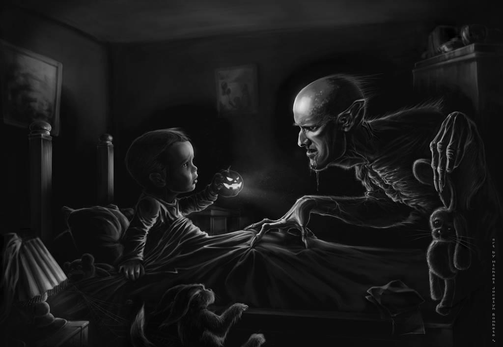 Существо за дверью » страшные истории