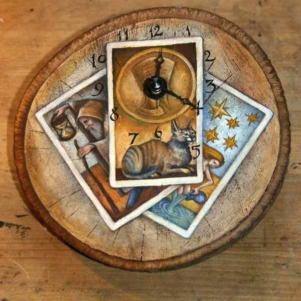Определение времени по таро с помощью астрологических соответствий