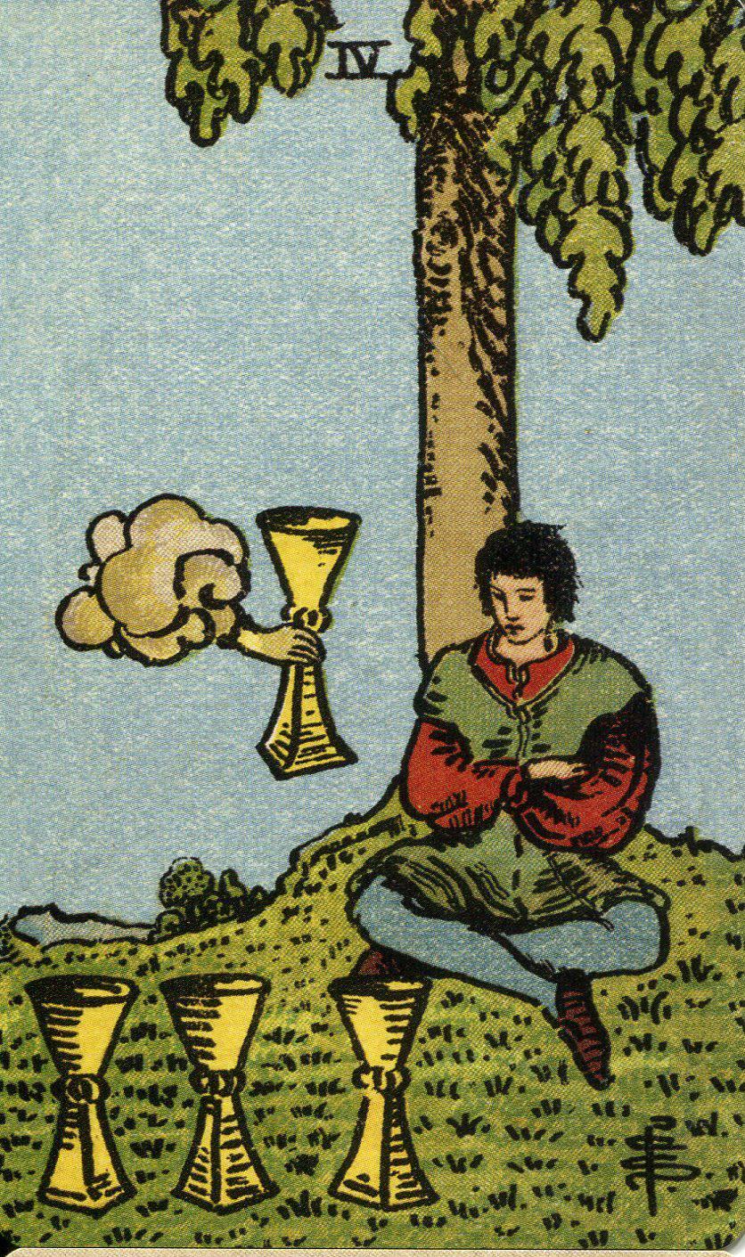 Рыцарь кубков (чаш) в таро уэйта: значение в отношениях, финансах